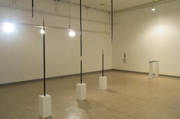 ニューアート展NEXT 2012」会場風景(2012年、横浜市民ギャラリー)