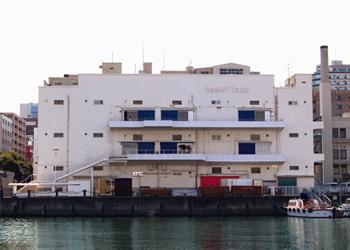 BankART Studio NYK(建物外観)。旧日本郵船倉庫を活用。