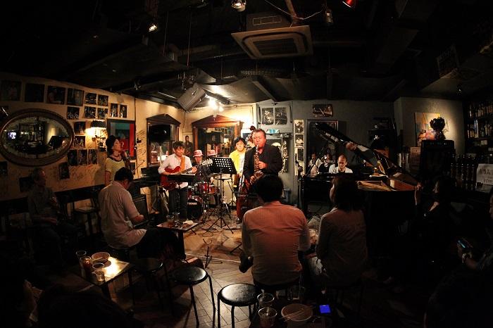 JP13 1013 King's Bar ジャム・セッション (c)YJP(撮影:クルー山田)