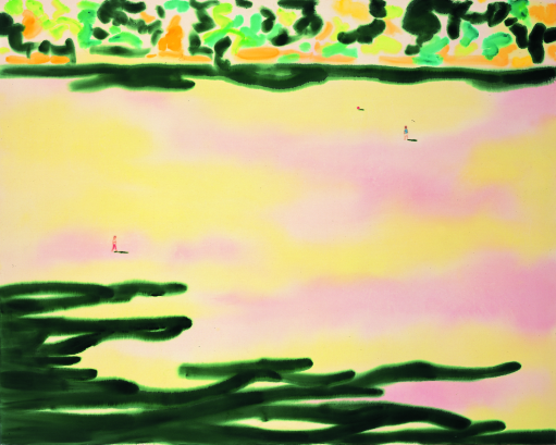 丸山 直文《Garden 1》2003年 アクリル、綿布 182.0×227.5cm東京国立近代美術館 © Naofumi Maruyama