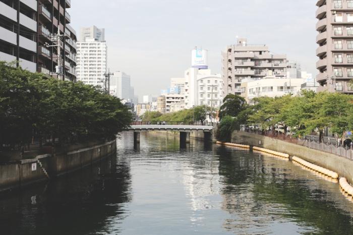 大岡川(黄金町駅近く)(カラーコーディネーション 撮影)