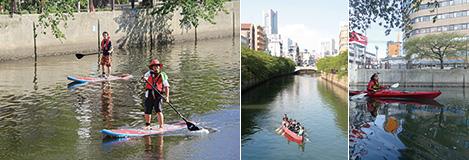 大岡川とともにあるまちの風景