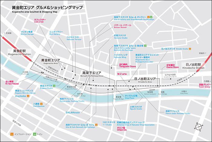 グルメ&ショッピングマップ
