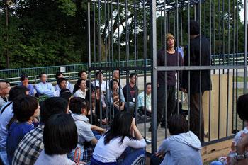 「ずうずうしい(Zoo Zoo Scene)」公演より (C)bobu