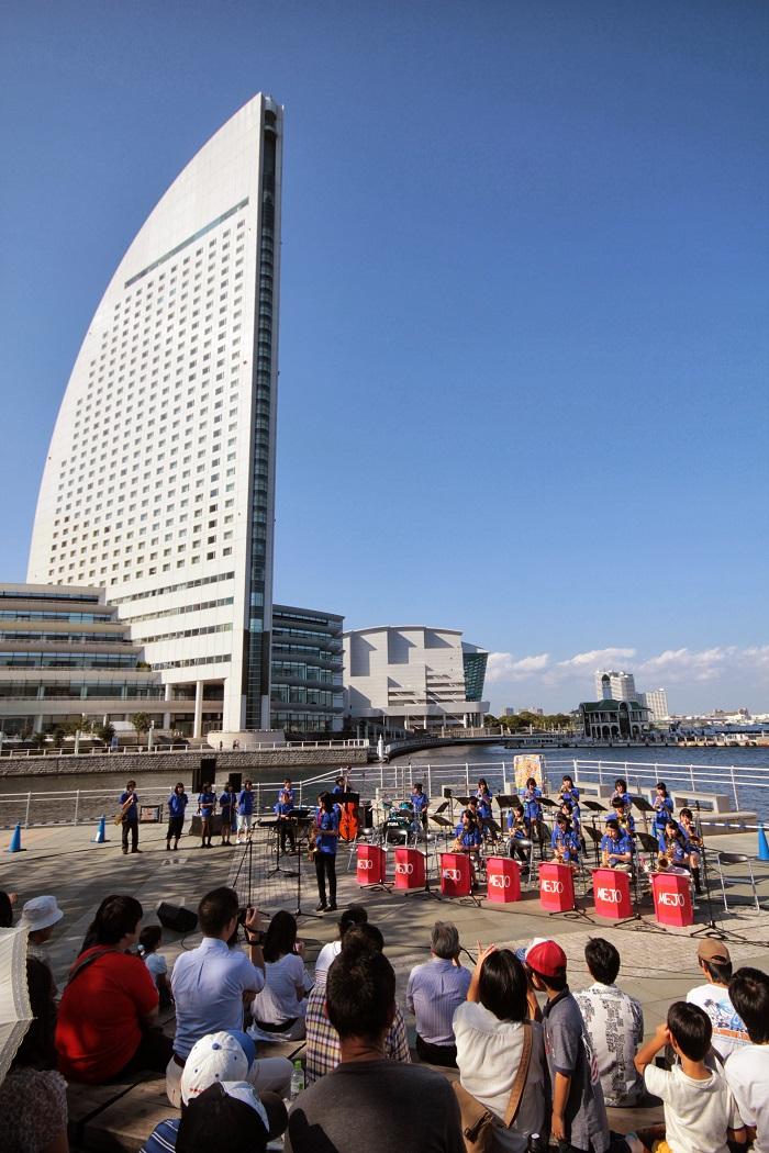 JP13+1012+カップヌードルミュージアム+生田東高校+(c)YJP(撮影:クルー岡部)