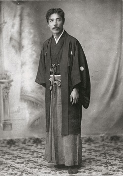 横山大観(41歳頃)