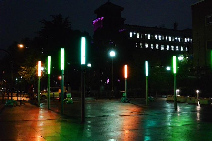 髙橋匡太 『既存都市照明のカラーチェンジ』