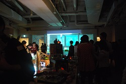 関内外オープン!5交流会  ドゥイによる映像