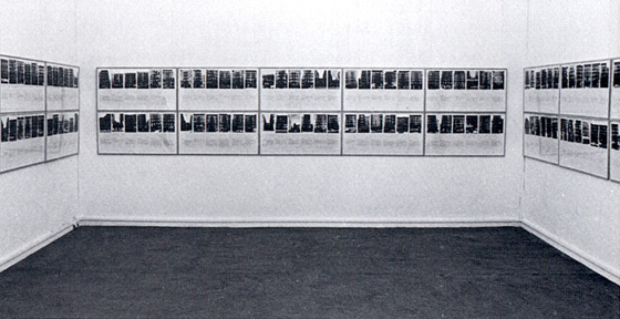 Shapolsky et al. Manhatten Real Estate Holdings, Real-Time Social System, 1971 Solomon R. Guggenheim Museum, NY, NY(show removed before opening to public)