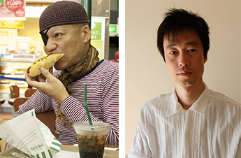 伊藤キム(写真左)、山下残(写真右)