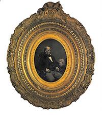 ボストン消防局長ウィリアム・バーニコートの肖像 ジョン・アダムス・ホイップル