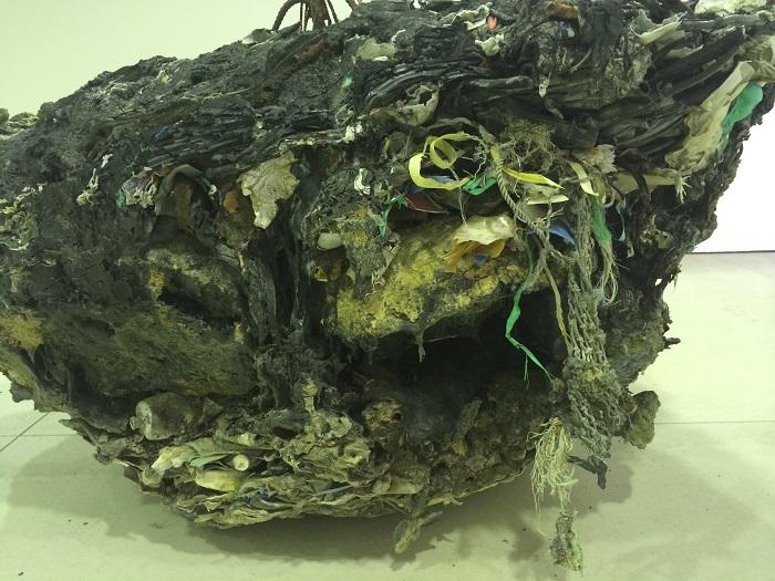 殿敷侃「山口ー日本海ー二位ノ浜 お好み焼き」(部分)1987