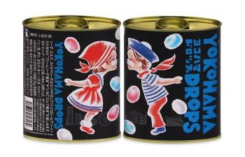 「ヨコハマドロップ」 地元企業:株式会社エクスポート/デザイナー:天野和俊/価格:320円(+税)1缶