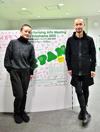 シャオ・クウ(写真左)とツゥ・ハン(右)
