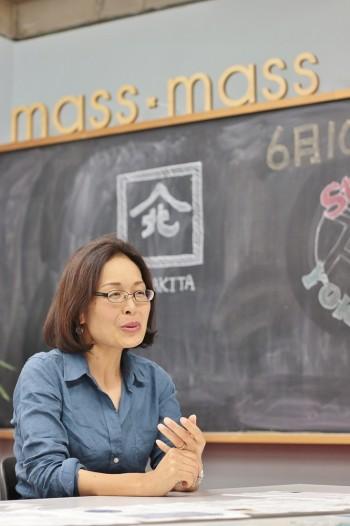 関内イノベーションイニシアティブ株式会社 代表取締役・治田友香さん