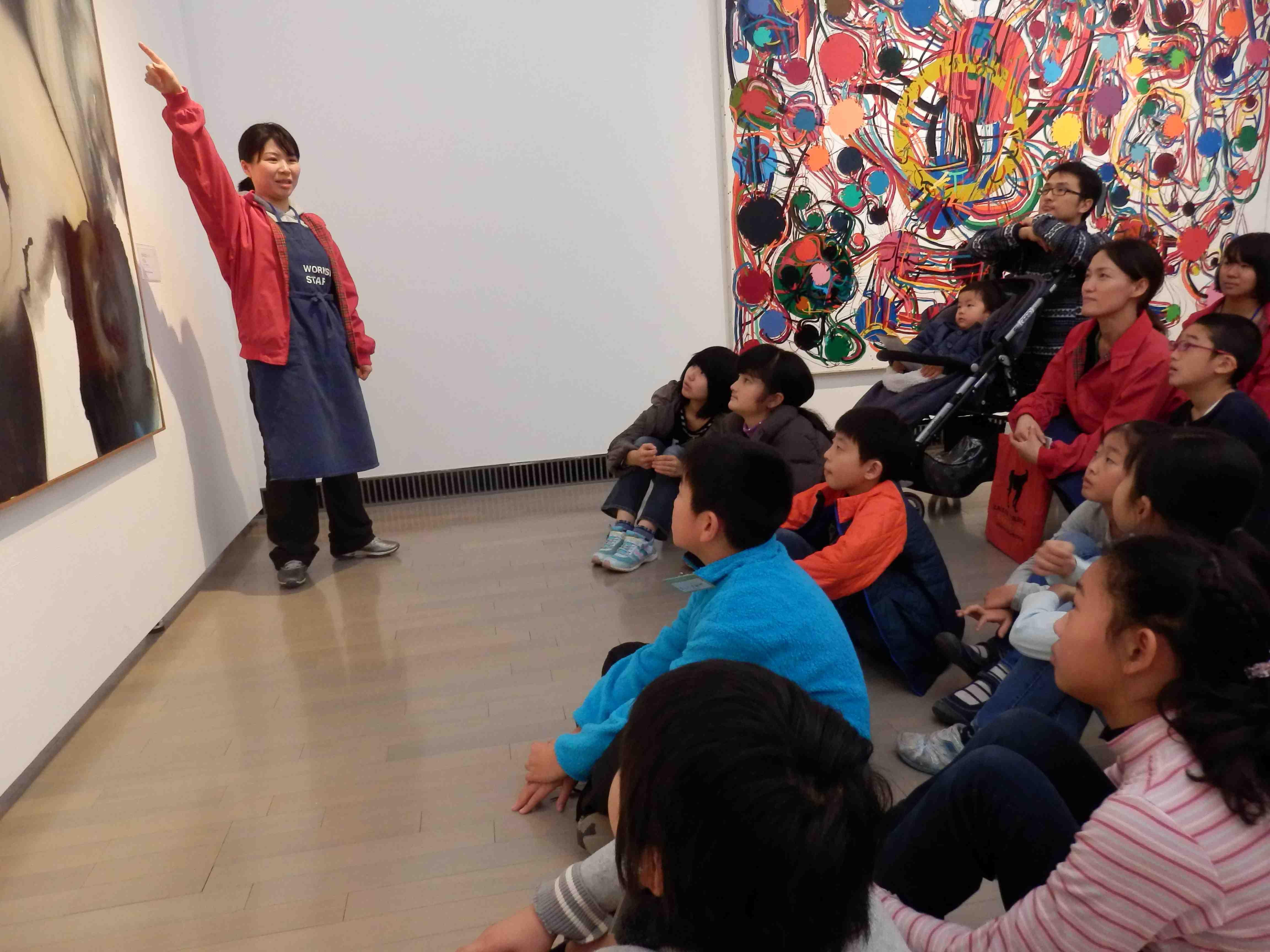 小学校高学年を対象に、主体的な鑑賞に導く講座「美術ってなんじゃもんじゃ?」も。