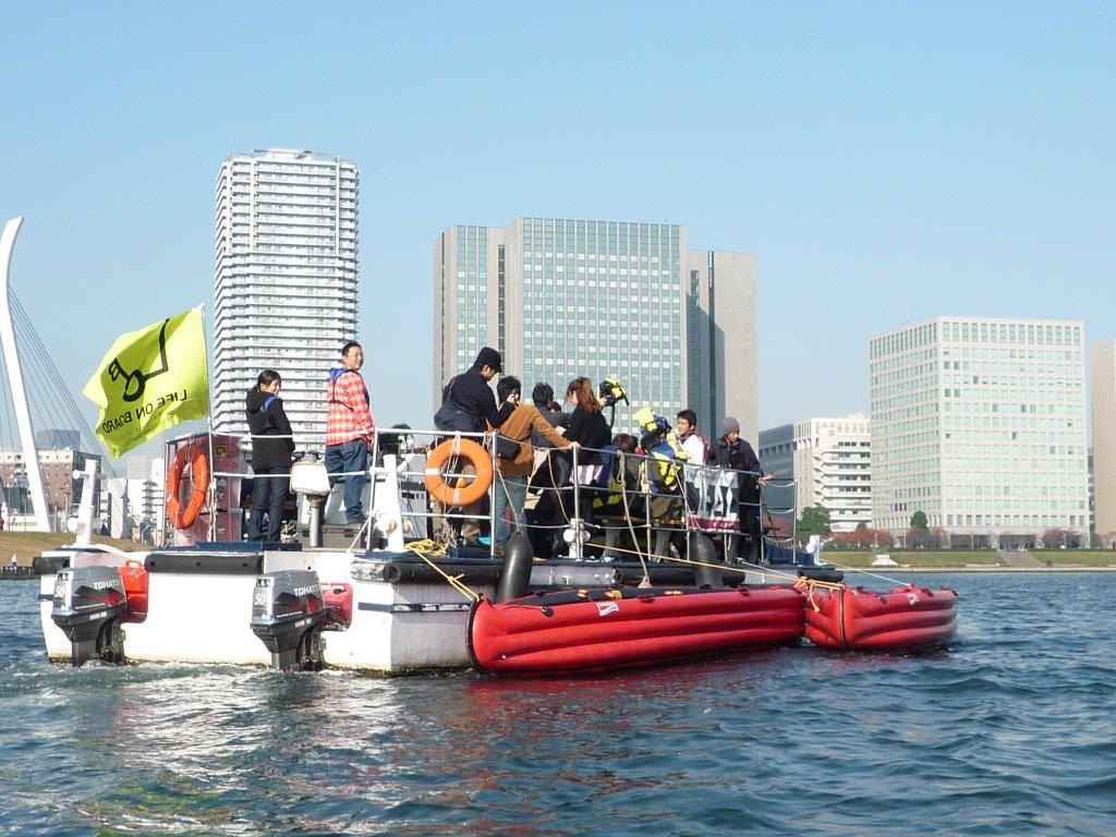 東京の水辺で一般参加可能なリサーチワークショップを開催。