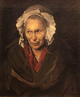 La Monomane de l'envie, 1822, Musée des beaux-arts de Lyon