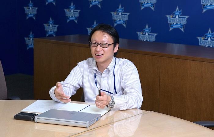 株式会社横浜DeNAベイスターズ経営・IT戦略部長の木村洋太さん