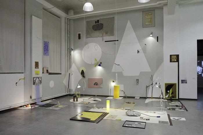 空間デザインコンペ ヴェレナ・イセル/Verena Issel 《NUGAE》2013年
