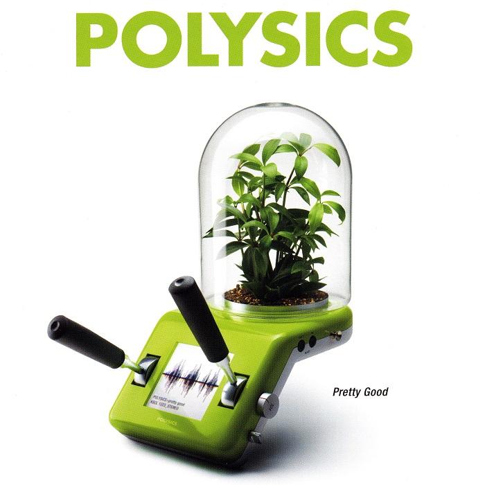 "POLYSICS ""Pretty Good""(2008)Ki/oonRecords        ソトコト(2003年4月号)表紙 CDジャケット"