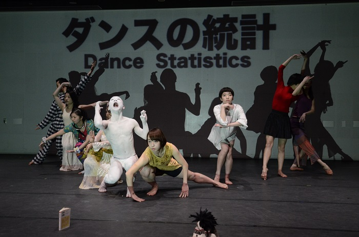 [The Absence of the City Project]より 冨士山アネット[Attack On Dance](2015)Photo by Hideki Namai