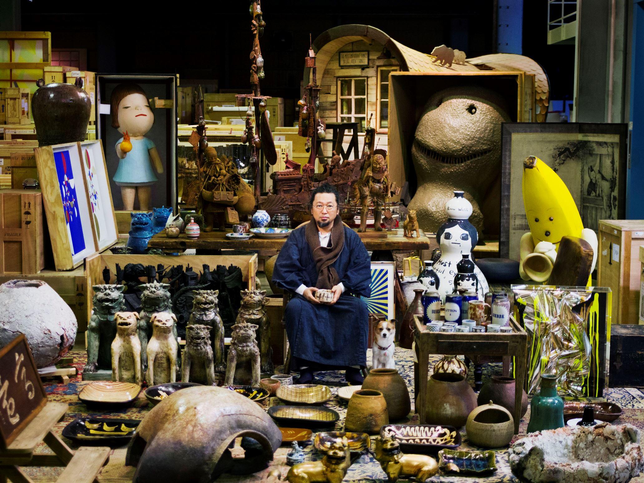 村上隆和他的SuperFlat藏品展 摄影:平尾健太郎