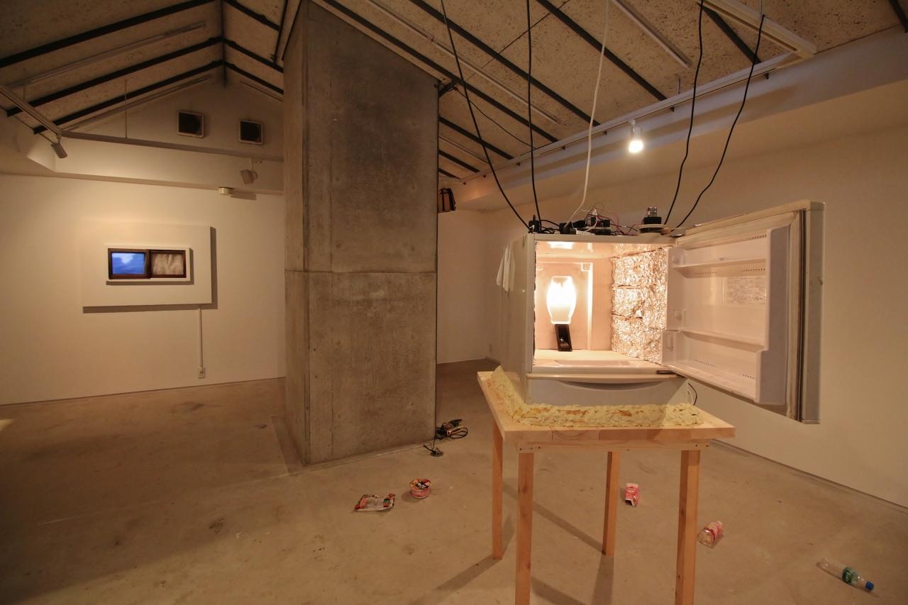 原田賢幸×山田裕介「あったもの。なくなったもの。おもいだせないもの。」展 (高架下スタジオ Site-A ギャラリー)Photo:OONO Ryusuke