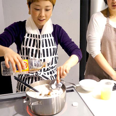 「大人の部室『BUKATSUDO』で料理教室体験」by いしだわかこ