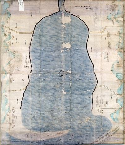 吉田新田開墾前図(開発前図)