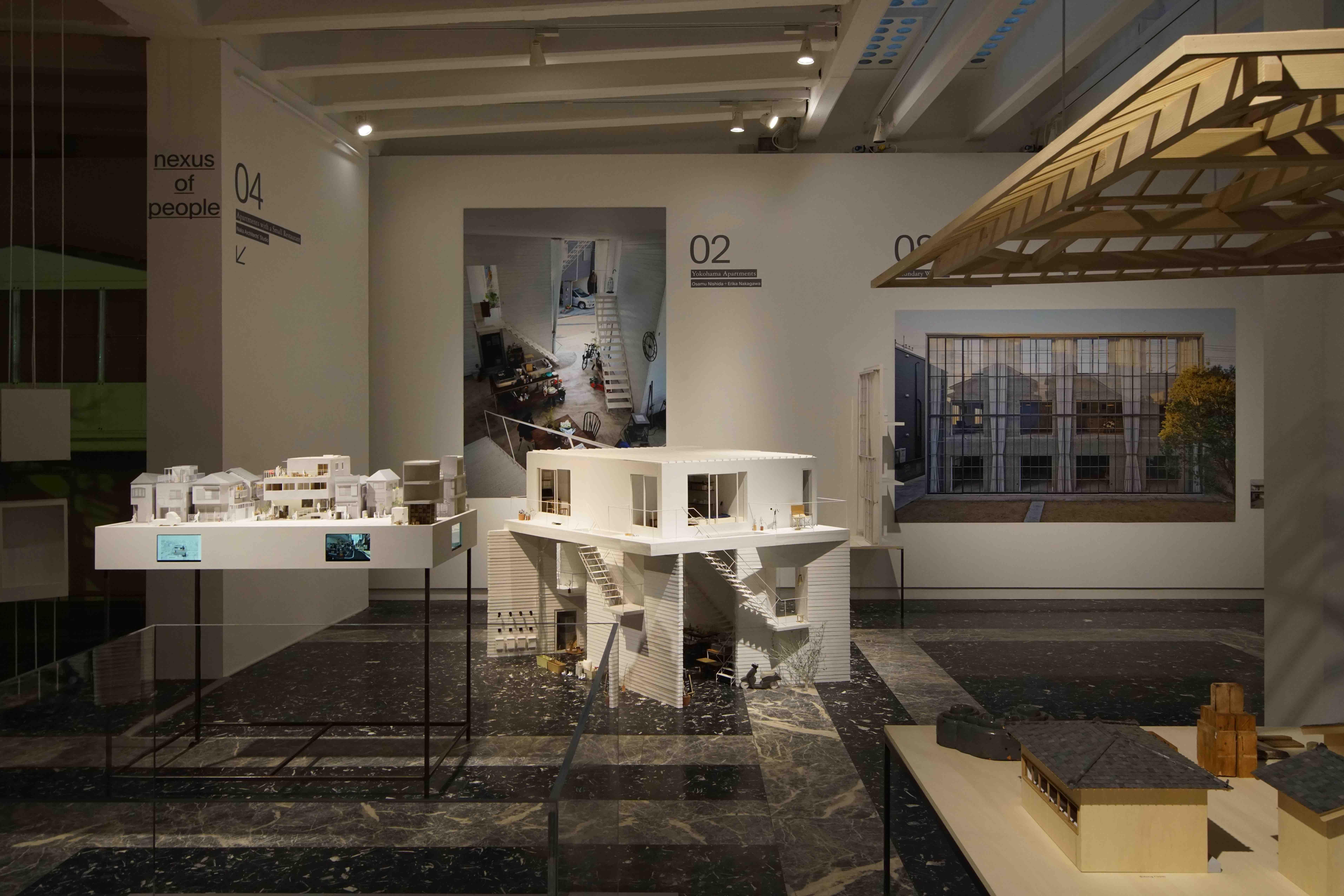 第15回ヴェネチアビエンナーレ国際建築展の日本の展示会場。