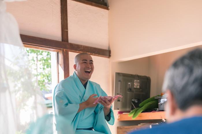 「日本の朝ごはん」スペシャルゲストは落語家の絵書家筆之輔さん