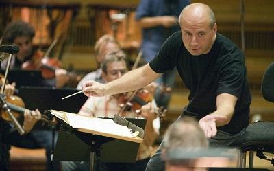 die deutsche Kammerphilharmonie Bremen bei den CD Aufnahmen  der Beethoven Symphonien im ehem DDR RundfunkgebŠude